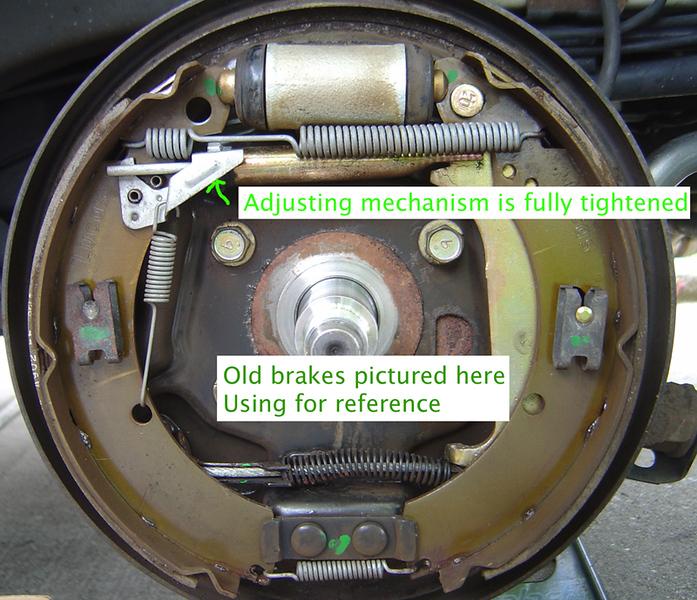 nissan versa rear brake removal